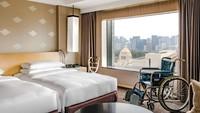 【ユニバーサル・デザイン・ルーム・ステイプラン】すべての方が使いやすい部屋でご高齢の方も快適に宿泊!