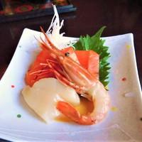 ◆選べるメイン『お刺身盛り合わせ』+お惣菜バイキング/自慢のお蕎麦付【2食付】