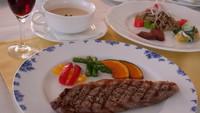■フルコース2食付■お肉&お魚、メインが2品! ゆったり使えるトリプルルーム2名様ご利用確約プラン