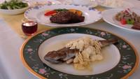 ■お料理満喫フルコース2食付■お肉&お魚メインが2品!清流で育った岩魚料理が好評♪