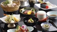 【限定】<個室食を確約>温泉旅館でゆったりと!旬の味覚を楽しむお手軽会席で癒しのひと時を!
