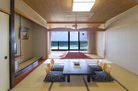 【和室】日本海を望むオーシャンビュー(喫煙)