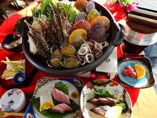 【みさき会席】あしずり海鮮ワイン蒸し/いお飯付きプラン!