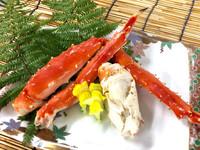 ◆【別注料理】たらば蟹付き(250g)!1泊2食バイキングプラン!
