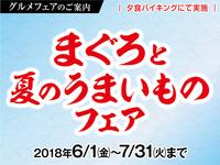 6月・7月限定【夏のグルメフェア!!】まぐろと夏のうまいものフェア!!飲み放題付きプラン!!