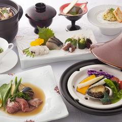 【早得21】<レストラン海菜美>海鮮のお造りや特選牛を味わう創作コース&朝食バイキング