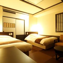 和ツイン◆100cm幅ベッド2台(2名定員)…21平米