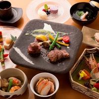 【事前カード決済・ご返金不可プランなので料金お得】ご夕食は個室食事処にて和食懐石12,000円コース