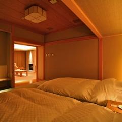 【スイート110平米】専用エレベーターが隠れ家的雰囲気。特別な日に贅沢おこもり/和食懐石or鉄板焼