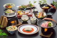 6/1〜新メニュー♪手頃に旬の味覚を楽しめる♪1泊2食「楽」(たのし)コース