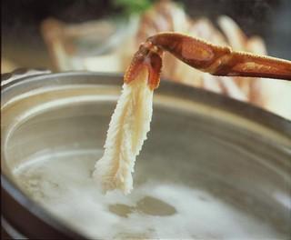 【こだわりの上質ブランドガニを食す】 番ガニコース