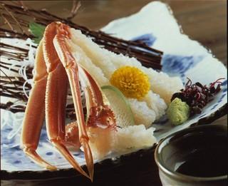 【柴山・津居山の活松葉蟹】 地ガニコース