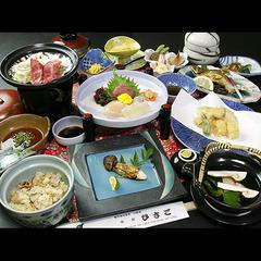 ◆秋限定◆旬の味覚を楽しむ!松茸の香り広がる土瓶蒸し付-松茸会席-