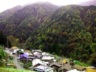 早川ぶらり町あるきプラン 天空の里「茂倉」