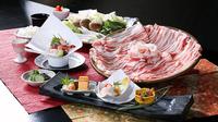 ◆【選べる夕食】◆『しゃぶしゃぶorすき焼き』どちらかをチョイス◆ 【露天風呂付客室】