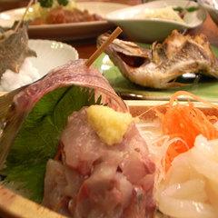 【グルメプラン】アワビ・サザエ・伊勢海老をドドーンと舟盛りで♪(2食付プラン)
