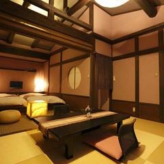 和ベッド客室「菖蒲」