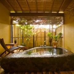 巨石露天風呂付客室「松籟」