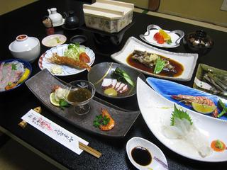 季節のおいしい地魚を堪能 地魚海鮮プラン 1泊2食付