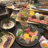GoTo35%割引なら超お得!夕食は人気の炙り炉端『山尾』博多満喫Cコース+ホテルの和洋朝食付!