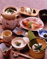 【朝食のみ】遅めのご到着でも安心!朝食の『豆腐懐石』で至福の休日を…
