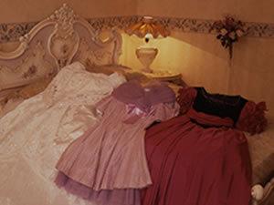 レディースプラン☆優雅にバラ風呂★部屋食デコケーキ