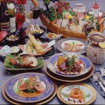 満腹★洋食コース+新鮮舟盛り付和食膳 【楽天限定・直前割】