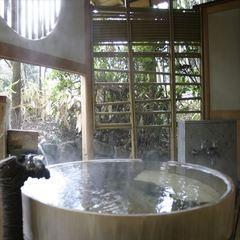 【1室限定:夢月】 露天風呂・内風呂付和室12畳ベット付