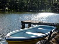 プライベート湖で宿泊中、ボートに乗って楽しめるプラン【体験】【平日限定】