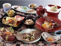 【通年】料理長おすすめ♪厳選素材の最上級会席-花-プラン 1泊2食 ¥14,028〜