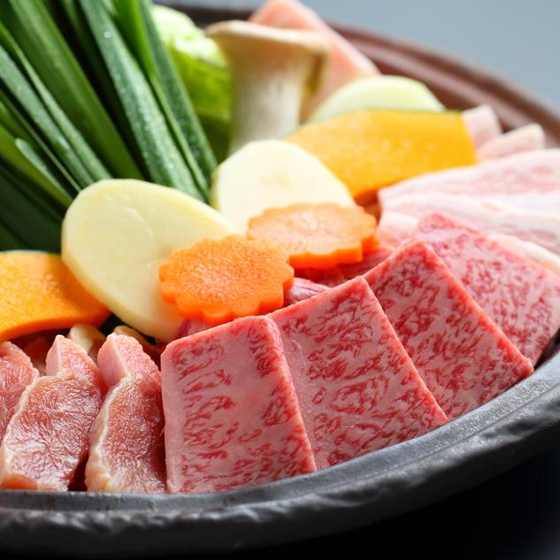 ●お肉をお腹いっぱい食べたい方へ◆黒毛和牛メインの鉄板焼き会席