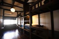 【個室】1日1組限定。最大4名泊まれる和風モダンな個室。