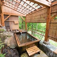 【スタンダード】中ノ沢川を望む部屋!大自然に抱かれ旬の恵みを堪能/貸切風呂無料