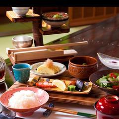 【内湯・露天付き離れ客室/夕食なし】1泊朝食プラン