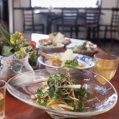【山野草5種盛り】丹後地魚と山野草の会席|すみれコース