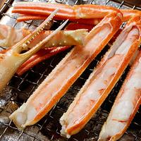 〇プレミアム活蟹プラン〇口福絶佳!焼き蟹&蟹刺し!タグ付き蟹をお一人1杯&地物紅ずわい付(2食付)