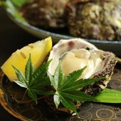 【初夏の味】氷見産 天然岩ガキを通常料理にプラス♪捕れたての味をご賞味下さい!