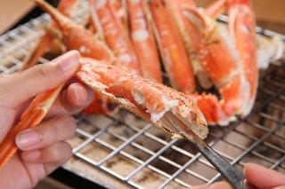 平日利用で嬉しい♪タグ付き地蟹も食べられる!限定かにプラン