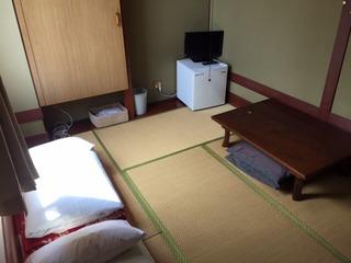 1人様★旅行先では和室で寝ましょう★チェックアウト12時★