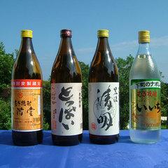 【夏休み/地焼酎】大分麦焼酎4種類呑みくらべ【休前日同料金】