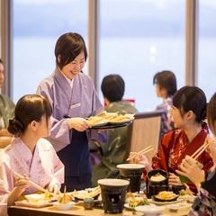 【3、4名様限定】通常より@1080円お得♪ 夕食は人気のダイニングプラン【お手頃コース】