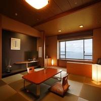 ☆【天の庭プラン】絶景を満喫するならこちら!最上階のお部屋確約&「特選会席・雅」を個室にて♪