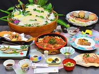 夏プラン 高曽 夏の白浜夕景菜食コース