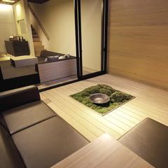 別邸メゾネットルーム/60平米(1階25平米+地下階35平米