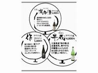 2,000円OFF!【☆選べる三重の地酒付プラン☆】 海の幸満点の季さら会席と相性抜群♪