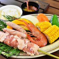 当館限定オフィシャルセットプラン【ぐらんぱるぽーとで海鮮BBQ】&【グランイルミ鑑賞】/送迎付