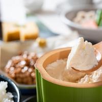 【朝食付】 自家製豆腐やだご汁も♪久住の美味しい朝ごはん♪