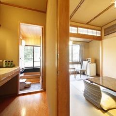【C】源泉檜風呂・トイレ付標準和室(6畳タイプ)
