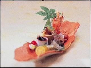 【カード専用】伊勢海老・鮑・シャコ・知多牛〜しらす・タコ・大アサリまで☆『悠々庵会席』