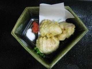 【現金特価】2〜3月限定★『白子の塩焼き&天ぷら付きふぐ会席プラン』最盛期のふぐと白子を是非味わって